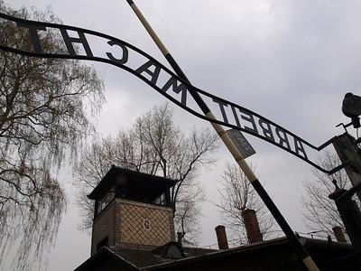 Auschwitz Nazi Deathcamp. Foto: Martin Bager.