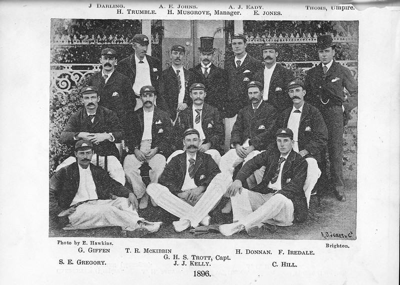 Australian Team in England