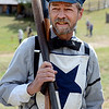 "Robert Mitchell of the Territorial Allstars has the look of the times, the 1880's.<br /> Walker Ranch celebrated Autumn with a demonstration of life in the 1880's and a vintage baseball game on Sunday.<br /> For more photos and a video of Walker Ranch, go to  <a href=""http://www.dailycamera.com"">http://www.dailycamera.com</a>.<br /> Cliff Grassmick  / September 30, 2012"