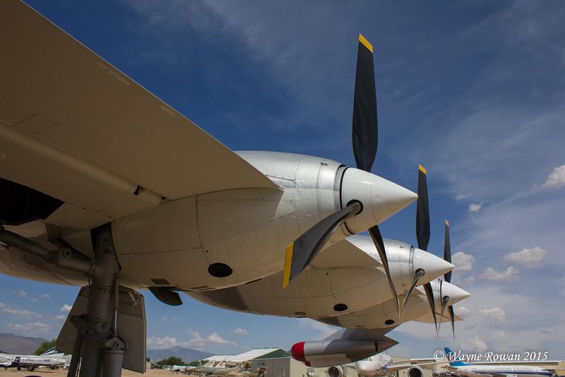 B-36J Starboard Engines