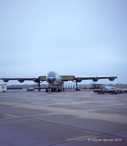 B-36J Bomber Serial Number 52-2827 at Greater Southwest Airport 1977