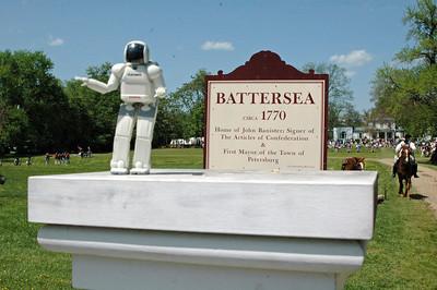 BATTERSEA REVOLUTIONARY WAR REENACTMENT