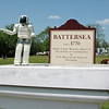 ASIMO visits Battersea Revolutionary War Re-enactment. Battersea consists of 35 acres that borders the Appomattox river.