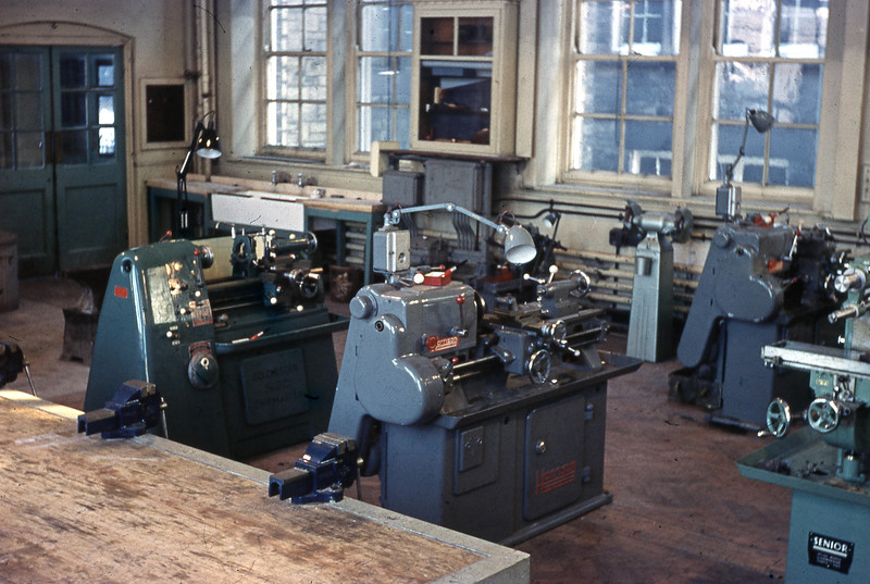 BRGS Engineering shop 1958