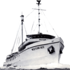 Western Ace,Built 1944 By Whitestone N Y,Launched Navy Tug ATR,Bait Boat After War, 60's Converted Seining Fellows and Stewart Termial Island Calif,