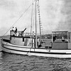 Karen  Built 1945 Coos Bay Boat Co Builder Abe Elfving For Vernon  Graham  Bait Tank  Pic Taken 1945