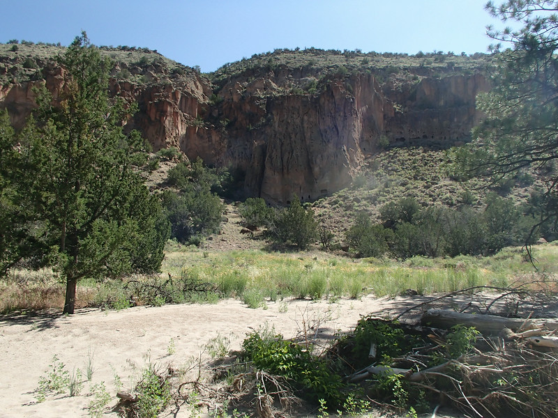 """""Bandelier's human history extends back for over 10,000 years when nomadic hunter-gatherers followed migrating wildlife across the mesas and canyons.""""<br /> :: from :: <a href=""http://www.nps.gov/band/historyculture"">http://www.nps.gov/band/historyculture</a> 5.jl.014<br /> -----<br /> photo taken 2012.june"