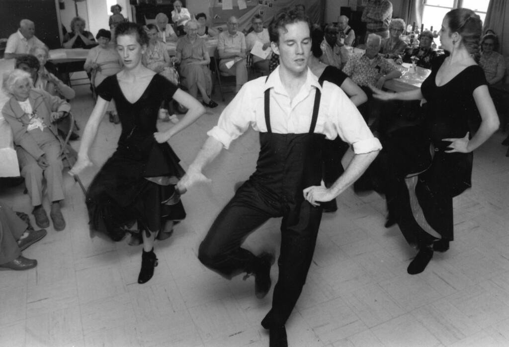 . Bard College dancer on APril 27, 1990.