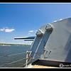 8 inch Gun on USS Massachusetts
