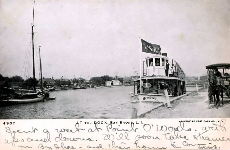 POW Ferry, Bay and Dock<br /> 1907