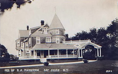 Summer home of Robert Allan Pinkerton, son of the founder of the Pinkerton Detective Agency, ca. 1910