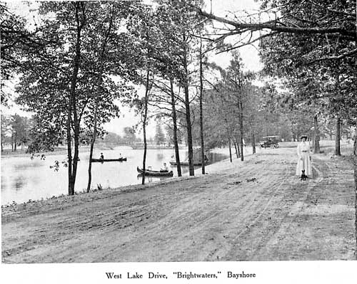 West Lake Drive, Brightwaters, 1909