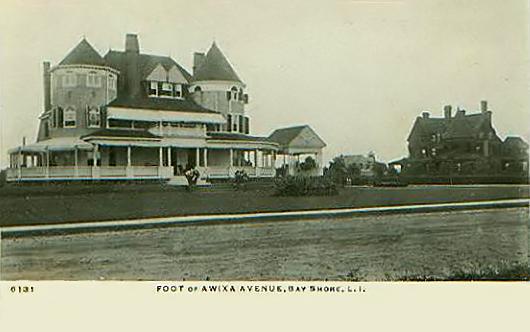 Foot of Awixa Avenue, ca. 1905.