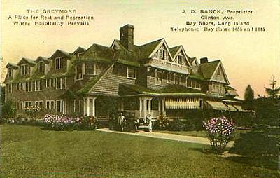 Greymore, Clinton Avenue, 1927