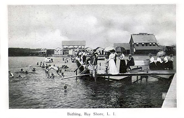 Bathing pavilion, ca. 1912