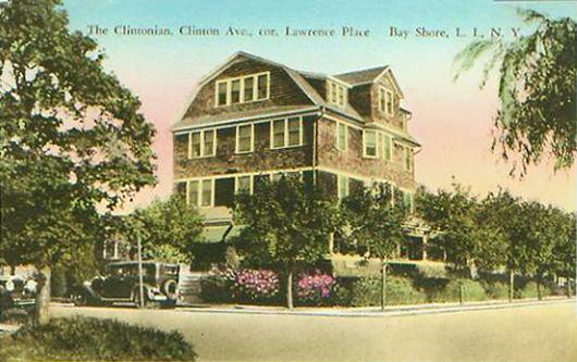 Clintonian, corner Clinton Ave. & Lawrence Place, ca. 1925