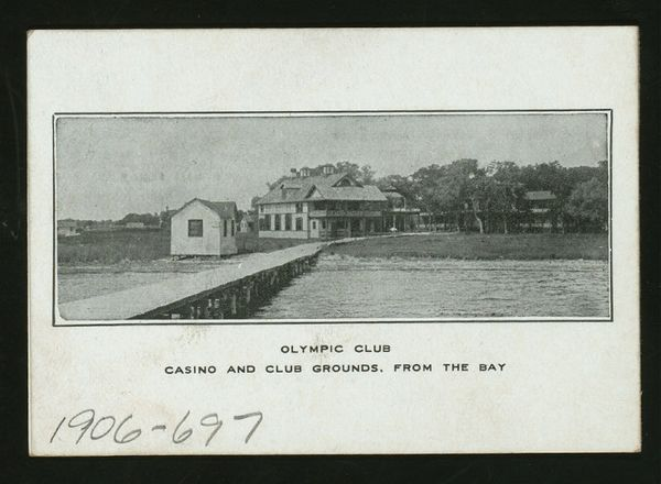 Olympic Club, casino, 1906
