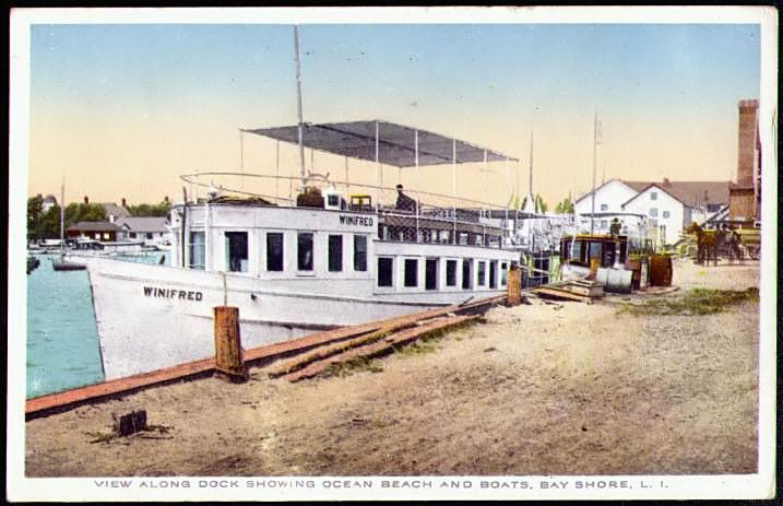 Bay Shore dock, ca. 1910