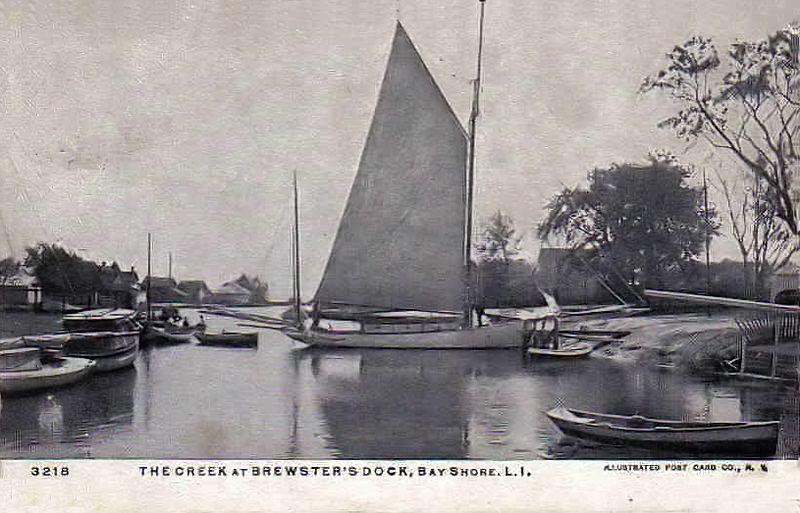 Creek at Brewster's, 1907