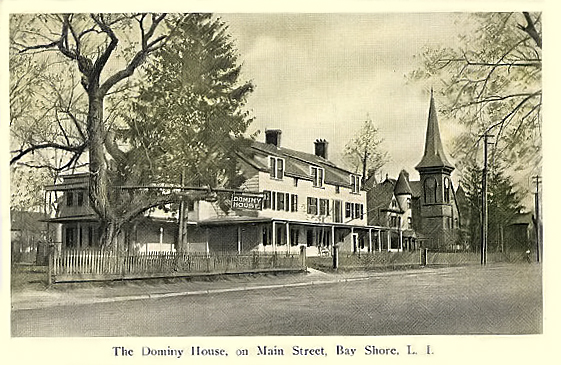 Dominy House, Main Street, ca. 1915.