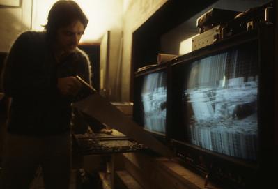 Woody adjusting the chromanance decoder