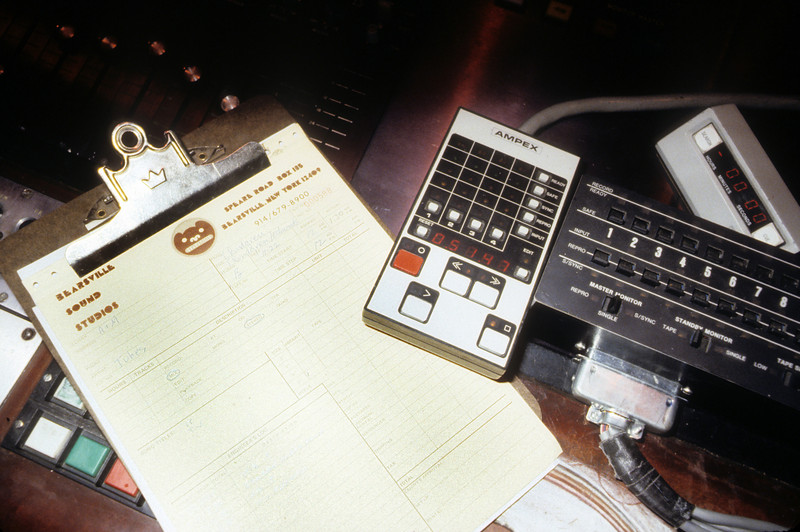 """ATR-102 and MM-1200 remotes in 'B' (The Tubes """"TV"""" overdub/mix session 1978)"""