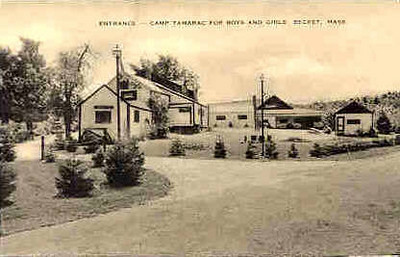 Becket Camp Tamerac Entrance
