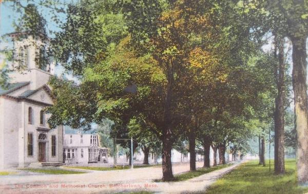 Belchertown Common and Methodist Church