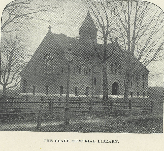 Belchertown Clapp Library