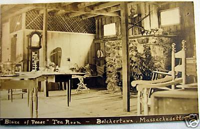 Belchertown Blaze of Peace Tea Room