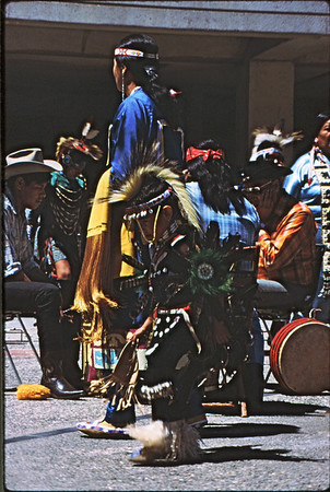 2*Tue, Apr 29, 1969<br /> *People: Plains Indians<br /> Subject: boy<br /> *Place: Sproul Plaza, ucb<br /> Activity: <br /> Comments: boy in foreground