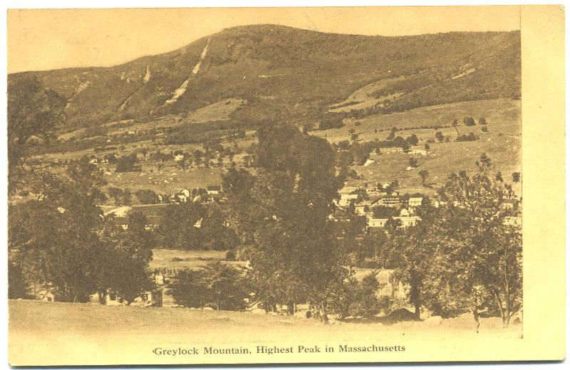 Berkshire Highest Mountain in Ma