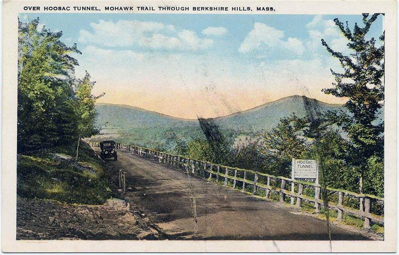 Berkshire Hills Over Hoosac Tunnel