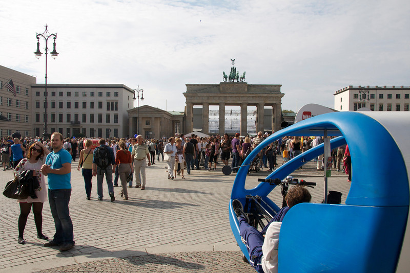 Brandenburg Gate, 2011