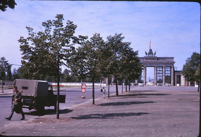 Brandenburg Gate, 1964