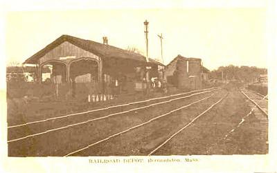 Bernardston B & M RR Depot