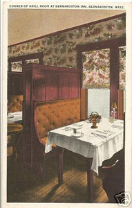 Bernardston Grill Room of Inn