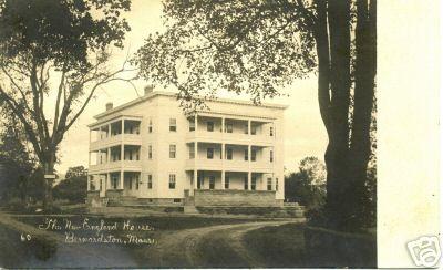 Bernardston N E House
