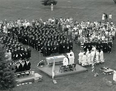 Baccalaureate Mass, 1984.