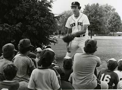 Bob Stanley, Red Sox baseball camp, 1982.
