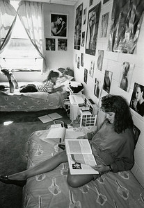 Student Apartment, early 1990s.