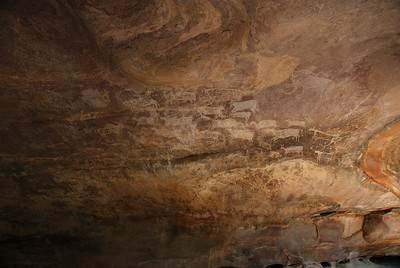 Bhimbetka rock shelters 2009
