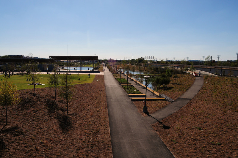 Overview of the Railroad Park