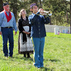"""The tour concluded with a stirring rendition of """"Taps.""""  The trumpeter was <b><i>Mariah Kayser</i></b> and the musician was <b><i>Jill Tesnow</i></b>."""