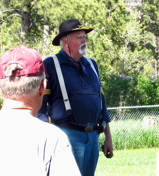 """Randy Bender has also been involved in """"cemetery walks"""" staged at Rose Hill Cemetery at Spearfish.  We featured that event in our <a href=""""http://www.photographs.galeymiller.org/History/SpearfishHistory/Rose-Hill-Cemetery-Walk/19315187_jjhFQD""""> <i><u>2012 Rose Hill Cemetery Gallery</u></i></a>."""