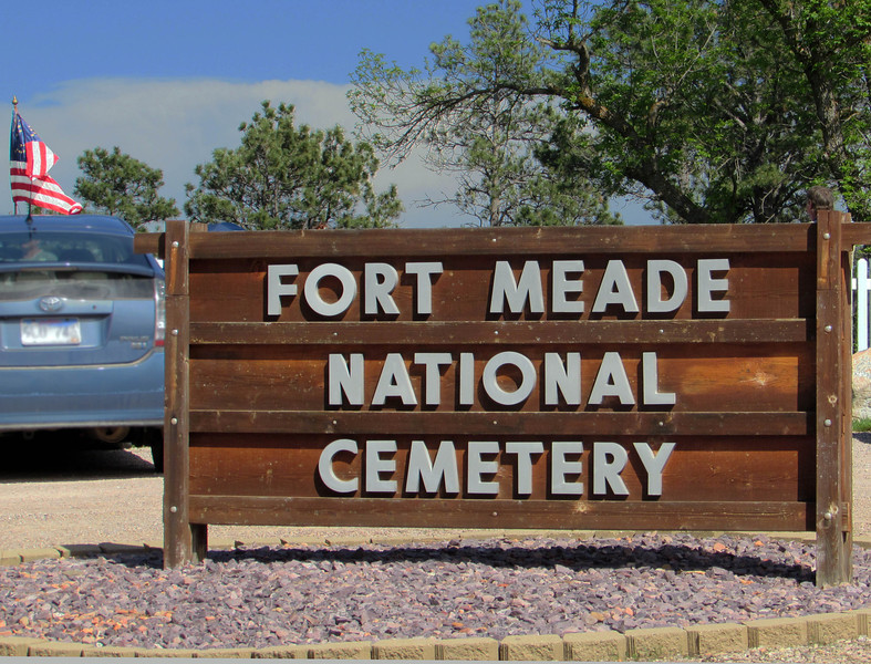 The Fort Meade National Cemetery is atop a hill overlooking old Fort Meade and Black Hills Healthcare (VA Center).  It's a final resting place for servicemen and families who served at the old fort from 1878 until 1944.  The old fort lasted longer than any of the many other frontier forts in the region.  It was built by soldiers from Fort Abraham Lincoln, which was located in present day North Dakota.  <i>Voices from the Hilltop</i> provided a glimpse of life in the old west, as told by a variety of people who were interred in this beautiful cemetery.  This was the third year for the event.