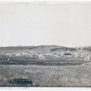 Title: Custer City. Custer City, Dak. from the east<br /> Distant view of small town; field in foreground and hills in background. 1890.<br /> Repository: Library of Congress Prints and Photographs Division Washington, D.C. 20540