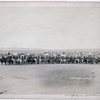 Title: Capt. Taylor and 70 Indian scouts<br /> Long row of military men and Lakota scouts on horseback in front of tipi camp--probably on or near Pine Ridge Reservation. 1891.<br /> Repository: Library of Congress Prints and Photographs Division Washington, D.C. 20540