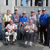 Belle Fourche and Spearfish veterans at World War II Memorial