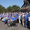 "A few of the ""Greatest Generation"" visit Arlington, Virginia"
